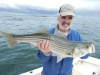 Striper snatched from the choppy Merrimack River