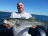 Merrimack River striper caught by Dave Barry
