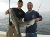 Nick & Mark doubled up on Striped Bass