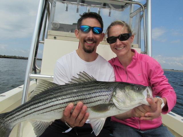 Ryan & Karen's striper