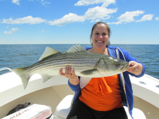 Lady anglers catch fish!