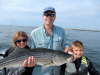 Merrimack River striper caught by Iain Brown