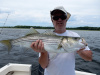 Merrimack River striper caught by John Slavoski
