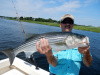 Merrimack River striper caught by Greg Crossman