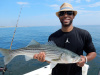 Plum Island striper caught byJermaine Anderson