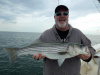 Plum Island striper caught by Rob Henderson
