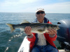 Plum Island striper caught by Ray Crossman